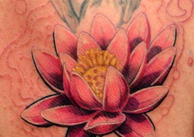 tattoo ninfea