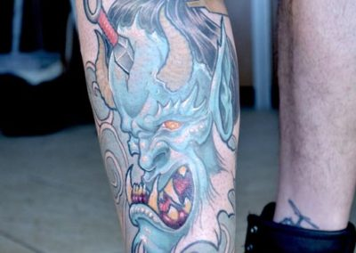 tattoo demone