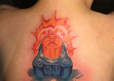 TNT tattoo